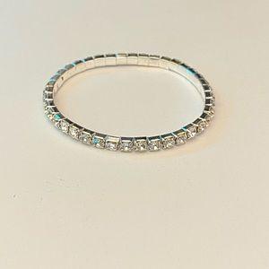 SWAROVSKI One Row Stretch Bracelet